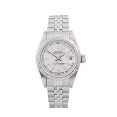 Rolex Datejust 26 26mm Stainless Steel & 18K White Gold - 69174