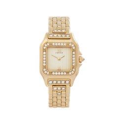 Cartier Panthère Diamond 18K Yellow Gold - WF3159HP