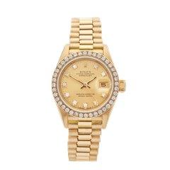 Rolex Datejust 18K Yellow Gold - 69138